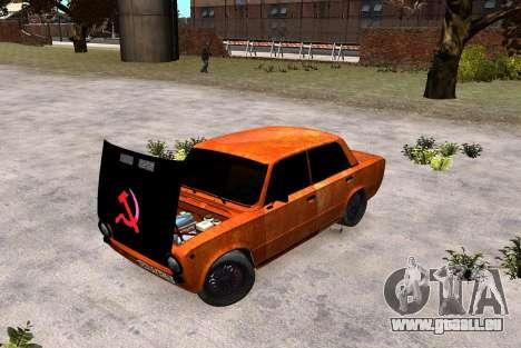 VAZ 2101 Clochard pour GTA 4 Vue arrière de la gauche