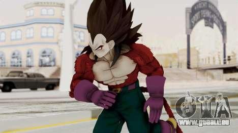 Dragon Ball Xenoverse Vegeta SSj4 für GTA San Andreas
