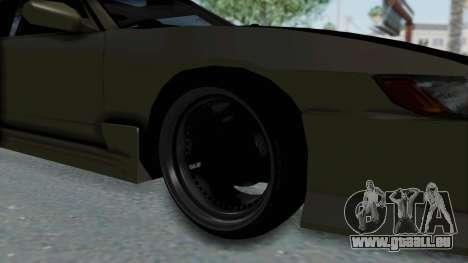 Nissan Sileighty TOD für GTA San Andreas Rückansicht