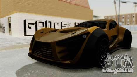 Felino CB7 pour GTA San Andreas vue de droite