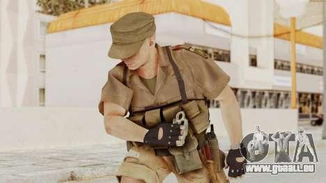 MGSV Phantom Pain CFA Combat Vest 1 v2 pour GTA San Andreas