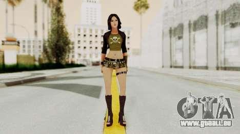 Gallacia Santos pour GTA San Andreas deuxième écran