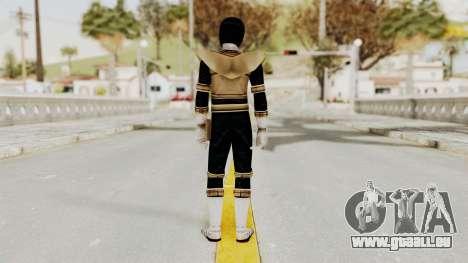Power Ranger Zeo - Gold pour GTA San Andreas troisième écran