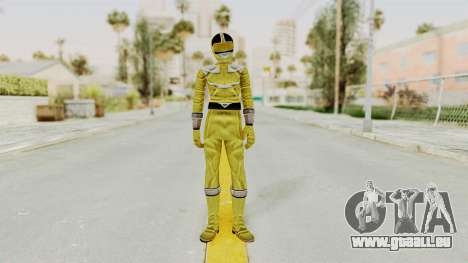 Power Rangers Time Force - Yellow für GTA San Andreas zweiten Screenshot