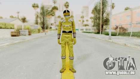 Power Rangers Time Force - Yellow pour GTA San Andreas deuxième écran