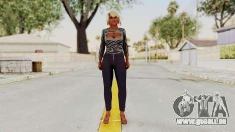 GTA 5 Hooker 3 pour GTA San Andreas deuxième écran