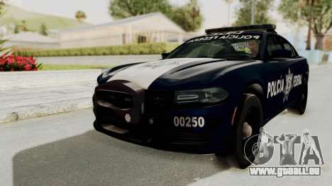 Dodge Charger RT 2016 Federal Police pour GTA San Andreas