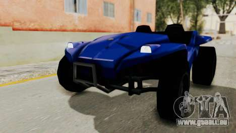 BF Buggy pour GTA San Andreas sur la vue arrière gauche