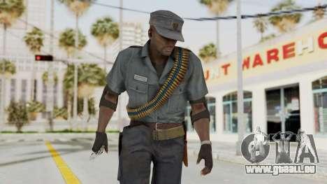 MGSV Phantom Pain Zero Risk Security LMG v1 pour GTA San Andreas