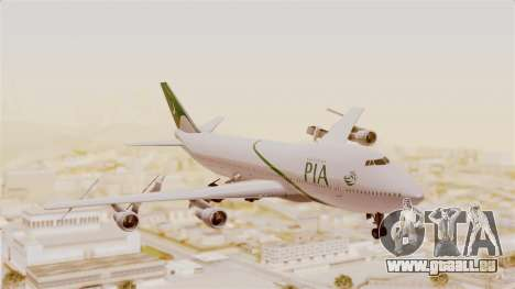 Boeing 747-200 Pakistan International pour GTA San Andreas