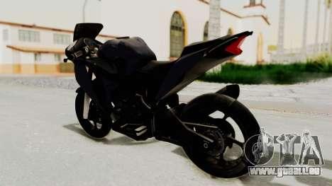 Honda CBR150i pour GTA San Andreas laissé vue