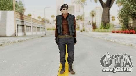 MGSV Phantom Pain Rogue Coyote Commander pour GTA San Andreas deuxième écran