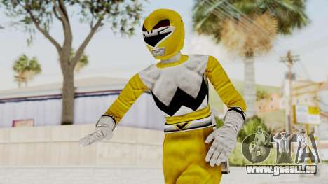 Power Rangers Lost Galaxy - Yellow pour GTA San Andreas