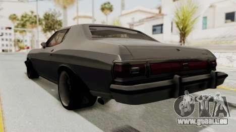 Ford Gran Torino 1975 Special Edition pour GTA San Andreas laissé vue
