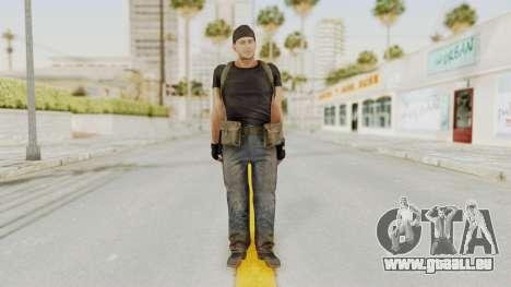MGSV Phantom Pain RC Soldier T-shirt v1 für GTA San Andreas zweiten Screenshot