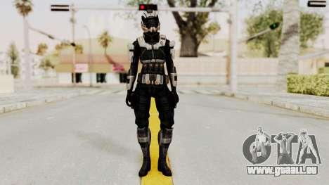 Mass Effect 3 Ajax Female Armor für GTA San Andreas zweiten Screenshot