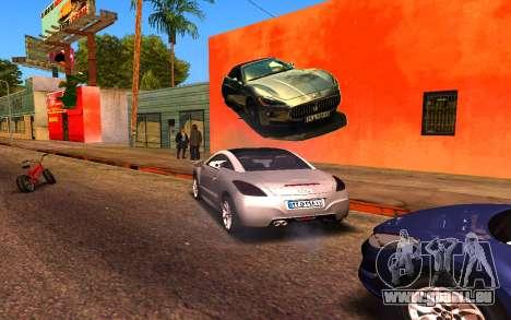 Maserati Wall Grafiti für GTA San Andreas her Screenshot