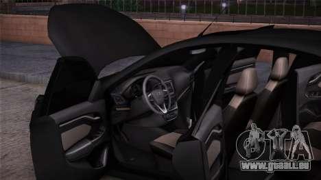 Lada Vesta Stoke pour GTA San Andreas sur la vue arrière gauche