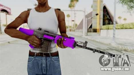 IOFB INSAS Violet pour GTA San Andreas troisième écran
