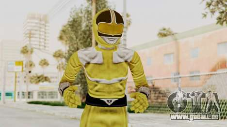 Power Rangers Time Force - Yellow für GTA San Andreas