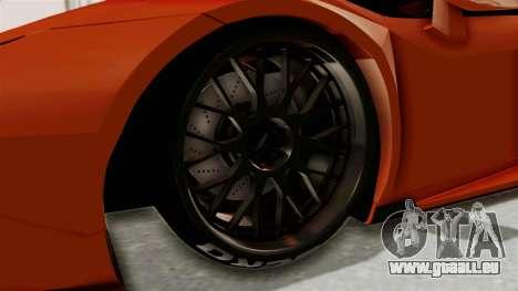 Lamborghini Huracan Libertywalk Kato Design für GTA San Andreas Rückansicht