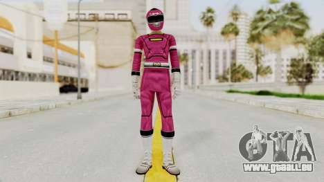 Power Rangers Turbo - Pink für GTA San Andreas zweiten Screenshot