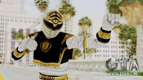 Mighty Morphin Power Rangers - White für GTA San Andreas