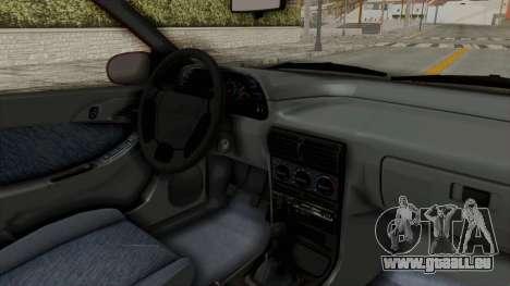 Daewoo Espero 1.5 GLX 1996 v2 Final für GTA San Andreas Innenansicht