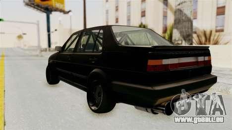 Volkswagen Jetta 2 pour GTA San Andreas laissé vue