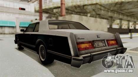 GTA 5 Dundreary Virgo SA Style für GTA San Andreas linke Ansicht