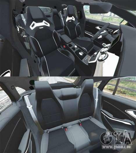 GTA 5 Mercedes-Benz CLA 45 AMG [AMG Wheels] rechte Seitenansicht