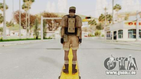 MGSV Phantom Pain CFA Combat Vest 2 v1 für GTA San Andreas dritten Screenshot