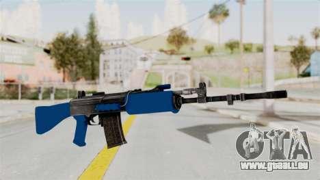 IOFB INSAS Dark Blue pour GTA San Andreas