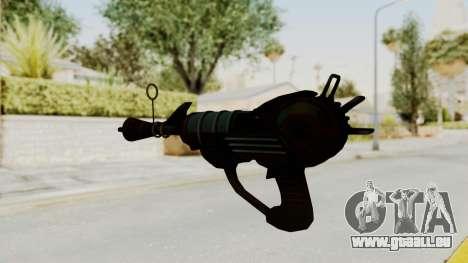 Ray Gun from CoD World at War pour GTA San Andreas deuxième écran