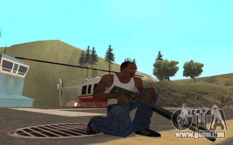 Redline weapon pack pour GTA San Andreas sixième écran
