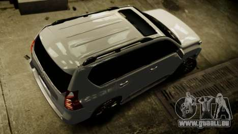 Toyota Land Crusier Prado 150 für GTA 4 Seitenansicht