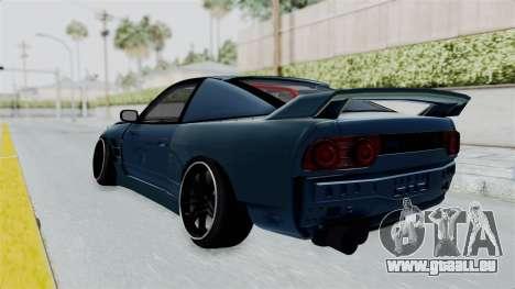 Nissan 180SX BETA pour GTA San Andreas laissé vue
