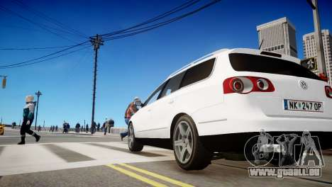 Volkswagen Passat Variant 2010 V1 pour GTA 4 Vue arrière