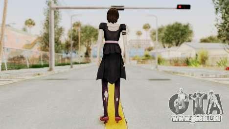 Madoka Tsukimori (Goth Version) pour GTA San Andreas troisième écran