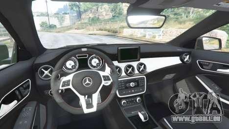 GTA 5 Mercedes-Benz CLA 45 AMG [AMG Wheels] hinten rechts