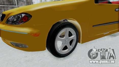 Nissan Maxima Spyder für GTA San Andreas Rückansicht
