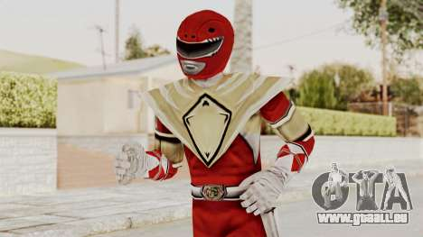 Mighty Morphin Power Rangers - Red Armor für GTA San Andreas
