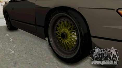 Nissan Sileighty RPS13kai für GTA San Andreas Rückansicht