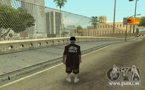 Varios Los Aztecas Gang Member für GTA San Andreas zweiten Screenshot