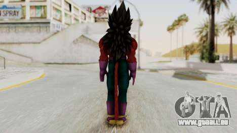 Dragon Ball Xenoverse Vegeta SSj4 pour GTA San Andreas troisième écran