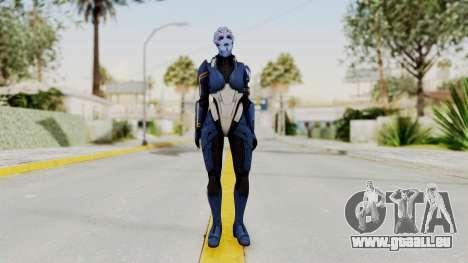 Mass Effect 2 Tesla Vasir pour GTA San Andreas deuxième écran