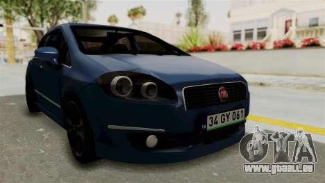 Fiat Linea 2011 für GTA San Andreas