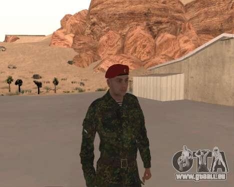 Pak Militaire Russe pour GTA San Andreas sixième écran