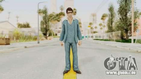 Scarface Tony Montana Suit v3 with Glasses pour GTA San Andreas deuxième écran
