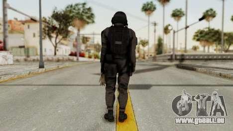 MGSV Phantom Pain Cipher XOF Afghanistan No Mask pour GTA San Andreas troisième écran